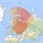 Карта на сигнала на Триколор ТВ