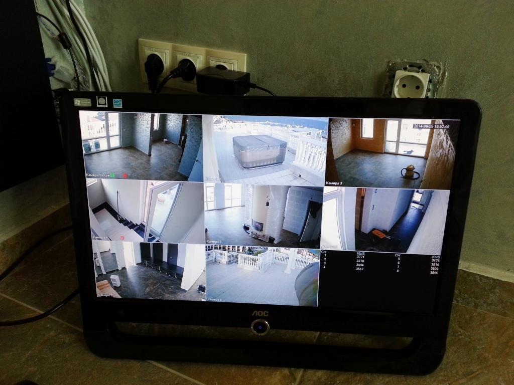 HD картина от системата за видеонаблюдение